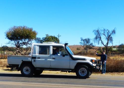 Rhino & Lion carro 4x4